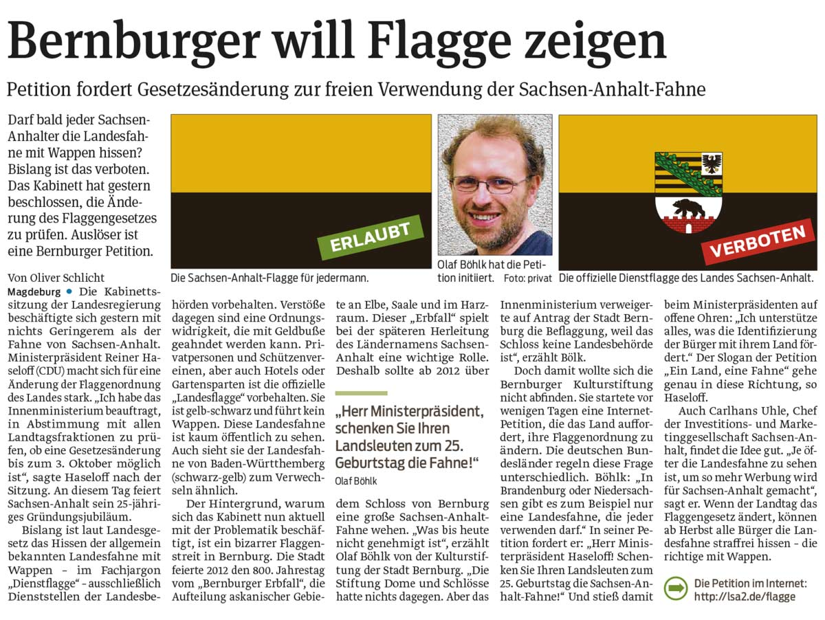 LSA_Flagge_Volksstimme_Jul15_2015